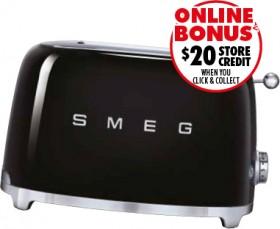 Smeg-50s-Retro-Style-2-Slice-Toaster-Black on sale