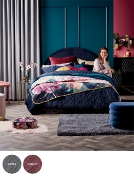 Koo-Sonia-Velvet-Quilted-Quilt-Cover-Set on sale