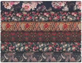 Print-Plain-Cotton-Sateen on sale