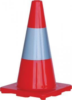 450mm-Traffic-Cone-with-Reflective-Band on sale