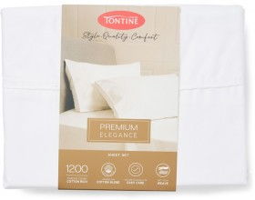 Tontine-Hotel-Luxury-1200-Thread-Count-Cotton-Rich-Sheet-Set-White on sale