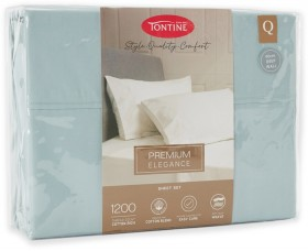Tontine-Hotel-Luxury-1200-Thread-Count-Cotton-Rich-Sheet-Set-Soft-Jade on sale