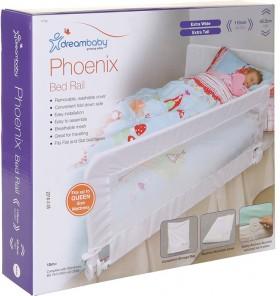 Dreambaby-Phoenix-Bed-Rail-White on sale