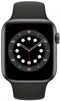 Apple-Watch-Series-6-GPS-44mm-Space-Grey-Aluminium-with-Black-Sports-Band on sale