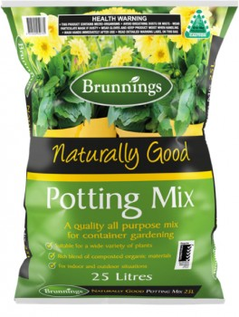 Brunnings-All-Purpose-Potting-Mix-25-Litre on sale