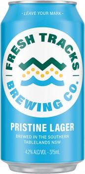 NEW-Fresh-Tracks-Pristine-Lager-375ml on sale