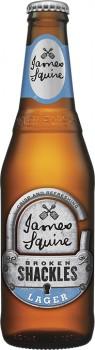 James-Squire-Broken-Shackles-Lager-Bottles-345mL on sale