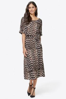Euro-Edit-Waist-Tie-Midi-Dress on sale