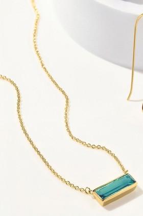 Fairfax-Roberts-Real-Gemstone-Bar-Necklace on sale