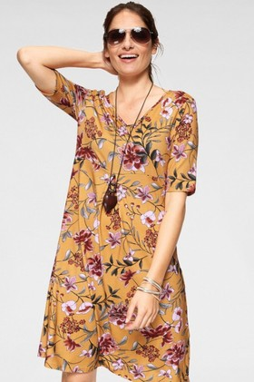 Urban-Printed-Midi-Dress on sale