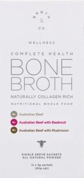 Broth-Co-Complete-Health-Beef-Bone-Broth-Powder-12-x-5g-Sachets on sale