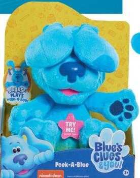Nickelodeon-Peek-a-Blue-Plush-Assorted on sale