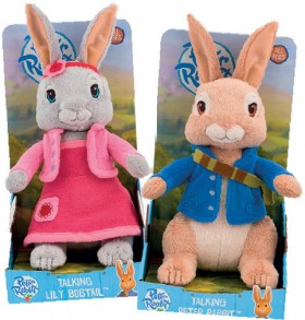 Peter-Rabbit-Talking-Lily-Bobtail-or-Peter-Rabbit-Plush-Assorted on sale