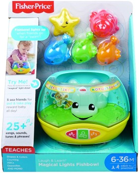 Fisher-Price-Laugh-n-Learn-Magical-Lights-Fishbowl on sale
