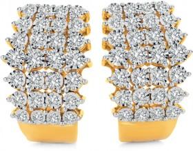 9ct-Gold-Diamond-Earings on sale