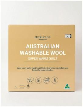 Heritage-Super-Warm-Wool-Quilt on sale