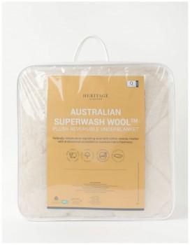 Heritage-Super-Warm-Wool-Underblanket on sale
