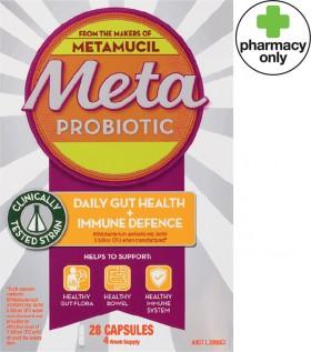 Meta-Probiotic-Daily-Gut-Health-Immune-Defence-28-Capsules on sale