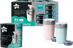 Tommee-Tippee-Twist-Click-Nappy-Disposal-Bin-Refills on sale