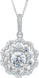 Pendant-with-Luxe-Cubic-Zirconia-in-Sterling-Silver on sale