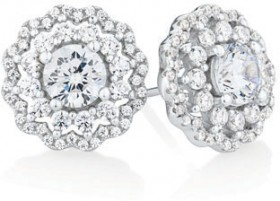 Stud-Earrings-with-Luxe-Cubic-Zirconia-in-Sterling-Silver on sale