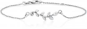 Olive-Leaf-Bracelet-in-Sterling-Silver on sale