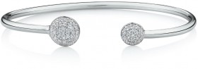 Open-Circle-Bangle-with-Cubic-Zirconia-in-Sterling-Silver on sale