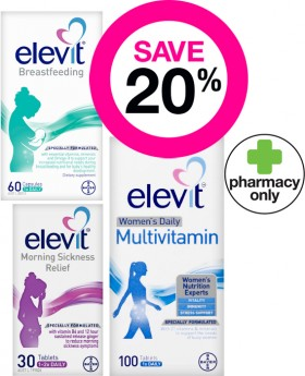 Save-20-on-Selected-Elevit-Products on sale