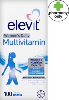 Elevit-Womens-Daily-Multivitamin-100-Tablets on sale
