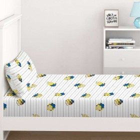 NEW-Minions-2-Fitted-Sheet-Set on sale
