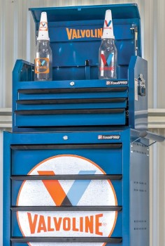 NEW-Valvoline-Tool-Cabinet-Top-Chest-Combo on sale