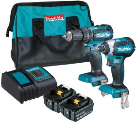 Makita-2Pce-18V-Brushless-Combo-Kit on sale