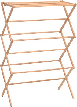 Bamboo-Folding-Clothes-Airer on sale