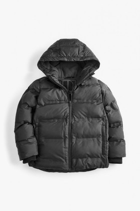 Next-Black-Fleece-Lined-Padded-Jacket-5-16yrs on sale