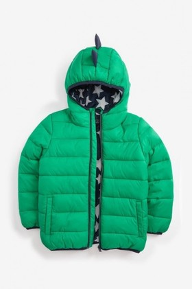 Next-Green-Dino-Padded-Jacket-3mths-7yrs on sale