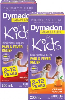 Dymadon-Paracetamol-For-Kids-212-Years-Strawberry-or-Orange-Flavour-200mL on sale