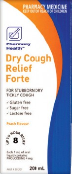 Pharmacy-Health-Dry-Cough-Relief-Forte-200mL on sale