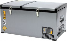 Oztrail-80L-Dual-Zone-Fridge-Freezer on sale