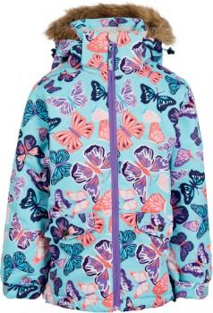 Chute-Kids-Butterfly-Print-Snow-Jacket on sale