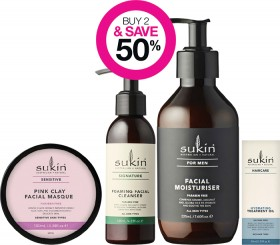Buy-2-Save-50-on-Sukin-Skincare-Mens-Haircare-Baby-Ranges on sale