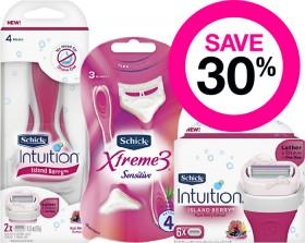 Save-30-on-Schick-Womens-Range on sale