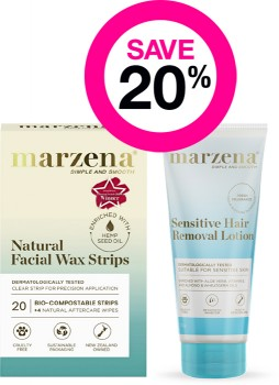 Save-20-on-Marzena-Hair-Removal-Range on sale