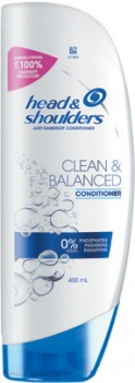 Head-Shoulders-Clean-Balanced-Conditioner-400mL on sale