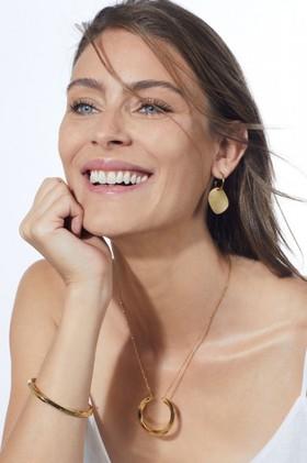 Fairfax-Roberts-Disk-Pendant-Hoop-Earrings on sale