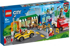 LEGO-City-Shopping-Street-60306 on sale