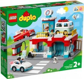 NEW-LEGO-Duplo-Parking-Garage-and-Car-Wash-10948 on sale
