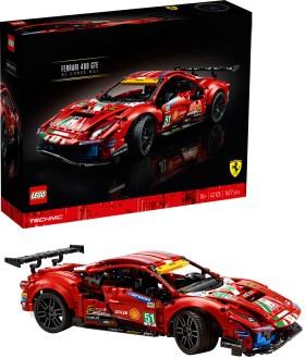 LEGO-Technic-Ferrari-488-GTE-AF-Corse-51-42125 on sale