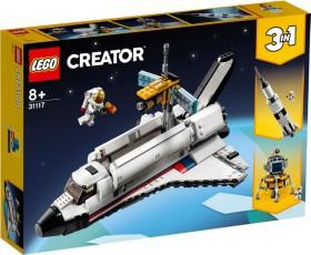 NEW-LEGO-Creator-Space-Shuffle-Adventure-31117 on sale