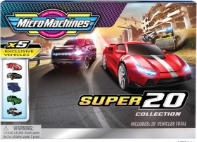 NEW-Micro-Machines-20-Pack-Vehicles on sale