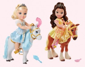 NEW-Disney-Princess-Toddler-Doll-and-Horse-Set on sale